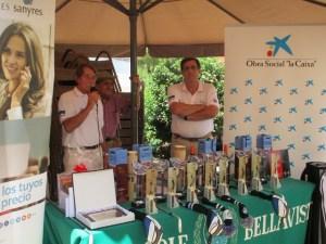 Torneo de golf Banco de Alimentos en Bellavista.