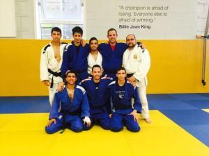 Borja Pahíssa, judoca del Huelva TSV.
