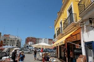 foto zona antiguo mercado