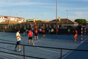Jornada dinamización deportiva en Ayamonte.
