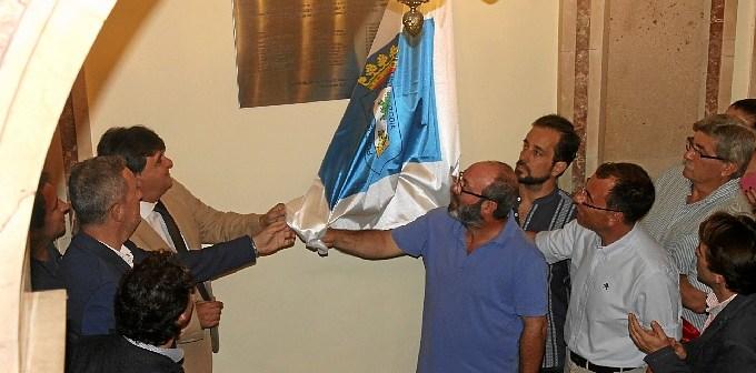 Corporacion represaliada placa Huelva