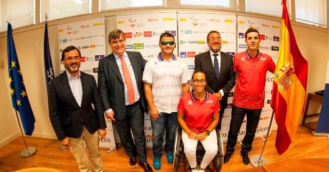 Presentación del equipo paralímpico español para los Juegos de Río de Janeiro.