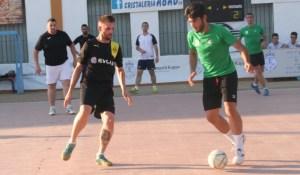 Trofeo El Colegio de fútbol sala en La Palma del Condado.