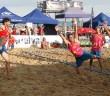 balonmano playa en mazagon
