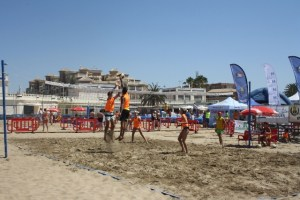 Circuito voley playa.