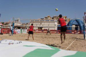 Campeonato de Andalucía de voley playa.