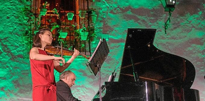 concierto violin y piano festival musica