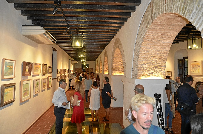 Exposición de florencio aguilera en ayamonte