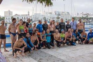 Recepcion participantes del proyecto 'Andalucía 7 desafios' en Ayamonte.
