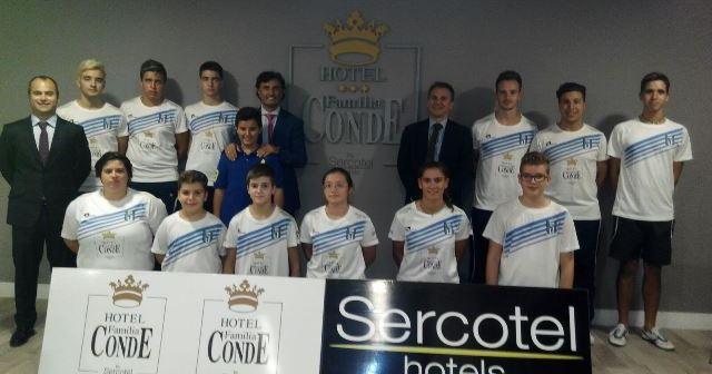 Convenio Familia Conde con el CD Bádminton Huelva.