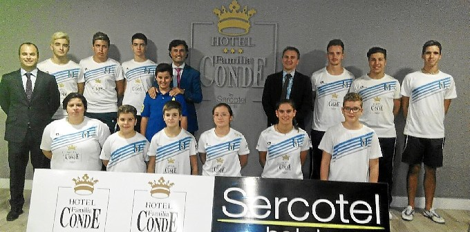 Foto oficial Hotel Familia Conde-Huelva
