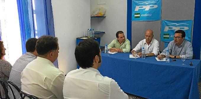 encuentro coordinadores comarcales del PP