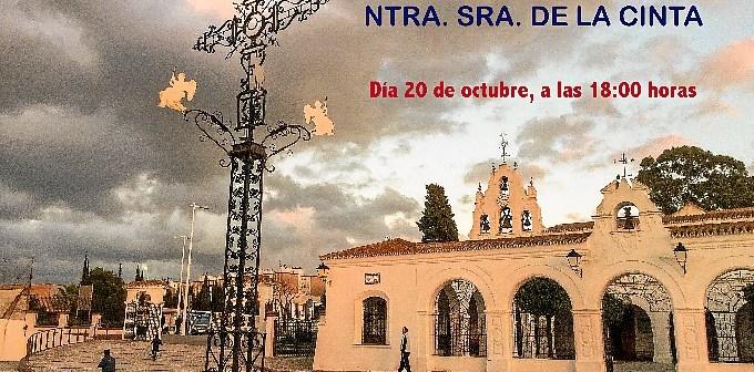 17.10.16 Cartel Misa y ofrenda solidaria Virgen de La Cinta