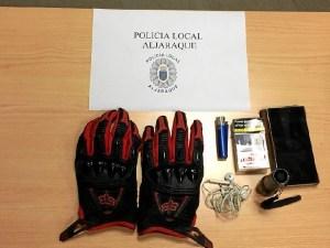 Detenido robo coche Aljaraque (1)