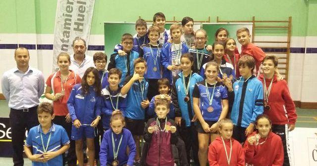Trofeo Andalucía de bádminton sub 9, sub 11 y sub 13.