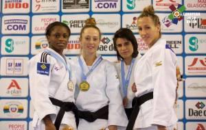 Cinta García, bronce en la Copa del Mundo de judo.
