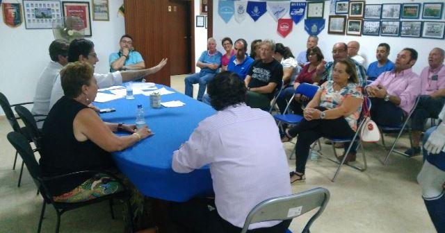 Asamblea de la Federación de Peñas del Recreativo de Huelva.