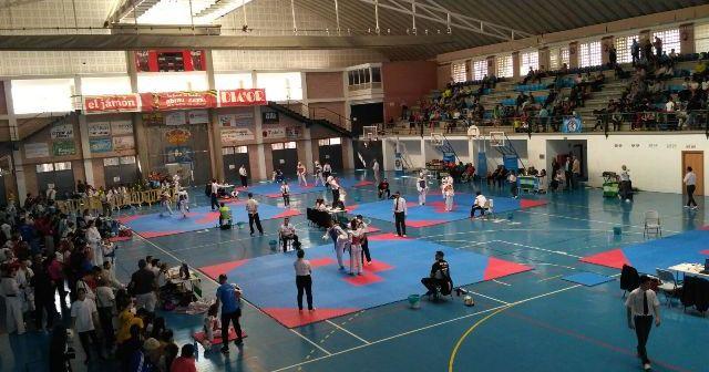 Copa Federación de taekwondo en Lepe.