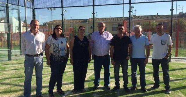 Reapertura de tenis y pádel en Aljaraque.