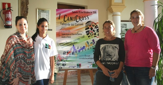 Presentación del I CaniCross en Valverde del Camino.