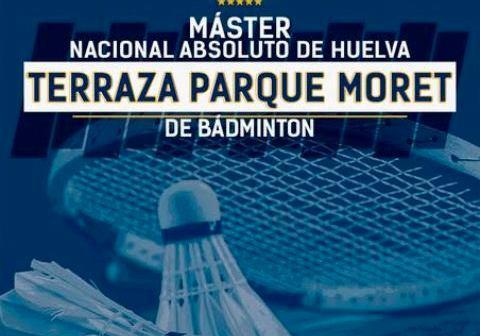 Máster Nacional absoluto de bádminton en Huelva.