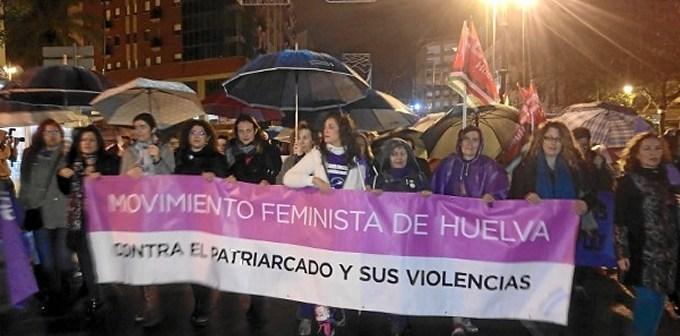 marcha 25-N Huelva