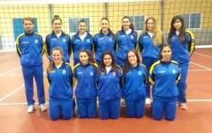 Selección femenina  juvenil de voleibol de Huelva.