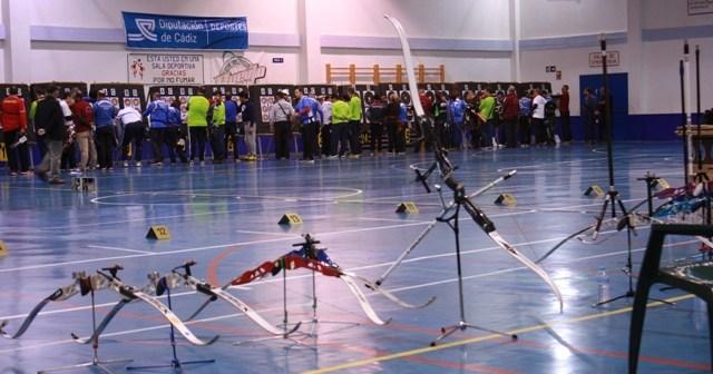 Torneo de tiro con arco en Cádiz.