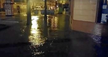 Inundaciones en Lepe. (Foto: Bella Santana-HuelvaHoy)
