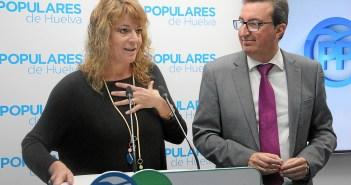 Pilar Miranda portavoz del pp grupo municipal en Huelva