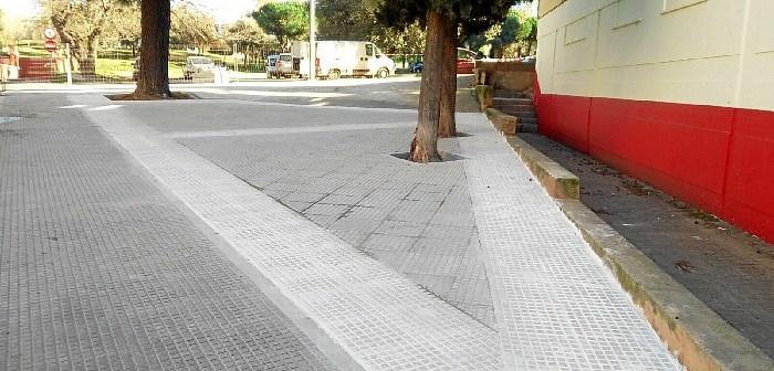 Calle Miguel Ángel Asturias de la barriada de La Orden.