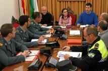 Junta local seguridad Valverde