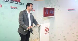 Senador del PSOE Amaro Huelva.