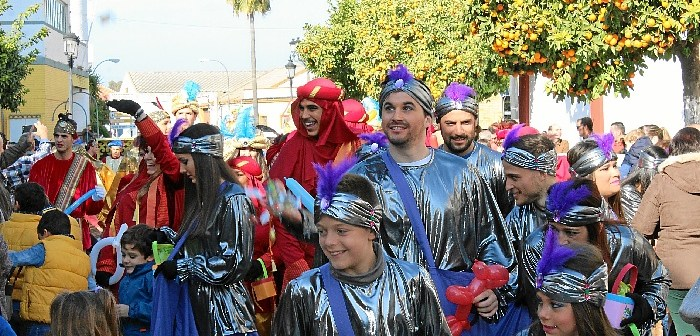 Visita del heraldo de los Reyes Magos a La Palma del Condado (8)