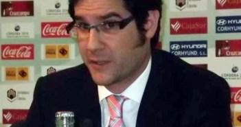 Carlos Hita, representante de Huelva Deporte en el consejo del Recreativo de Huelva.