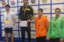 Elkham Mamedov, bronce en el Campeonato de España sub 23 de lucha libre.