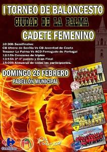 CARTEL I Torneo Ciudad de La Palma CF