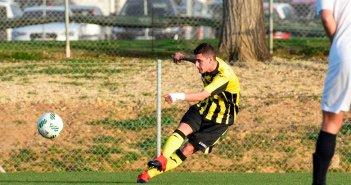 Nico Gaithan, jugador del San Roque de Lepe.