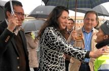 Loles Lopez en Aljaraque