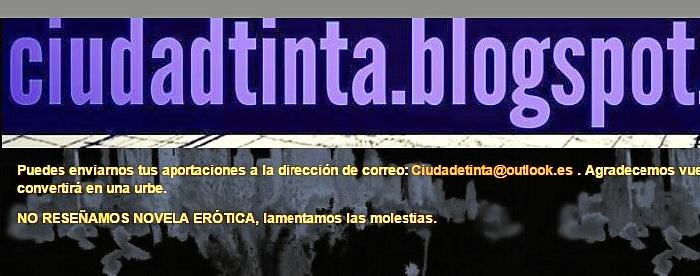 blog ciudad de tinta