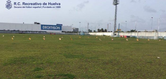 Campos de la Ciudad Deportiva del Recreativo de Huelva.