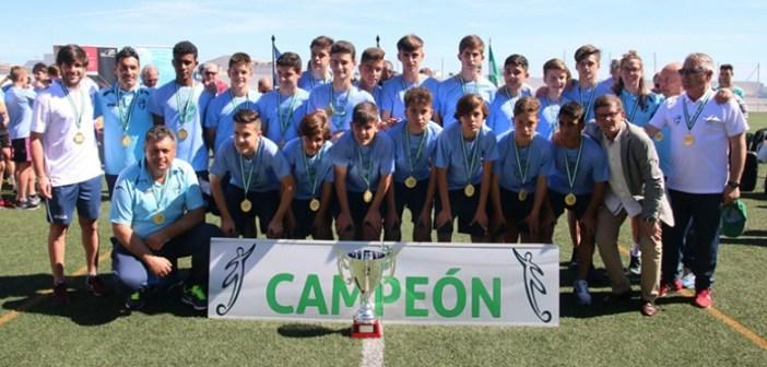 Selección infantil de Sevilla, campeona de Andalucía.