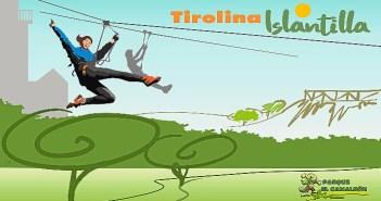 2017 03 15 Tirolina de Islantilla