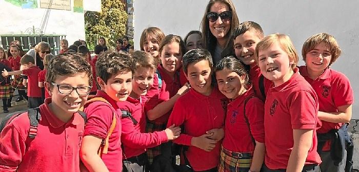 Argentina en el colegio Montessori de Huelva (1)
