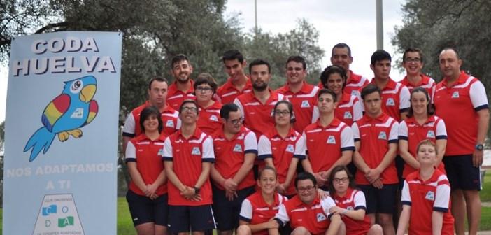 Representación del CODA en el Campeonato de España.