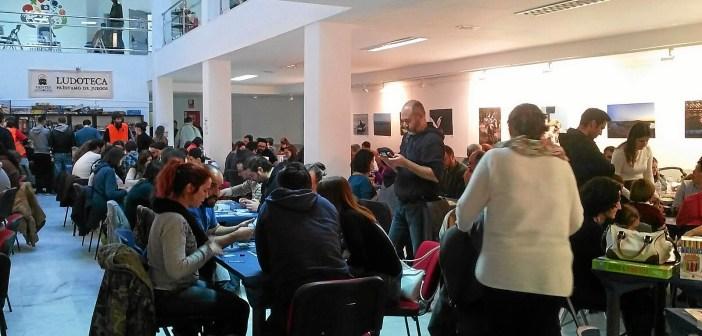 II Encuentro Juegos de Mesa ambiente
