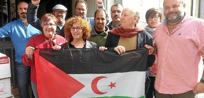 IU Entrega ayuda humanitaria al Sahara