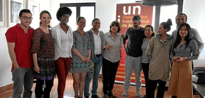 Proyeccion de Alala en la sede de la UNIA en La Rabida (1)