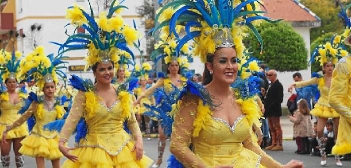 cabalgata carnaval Ayamonte 2017