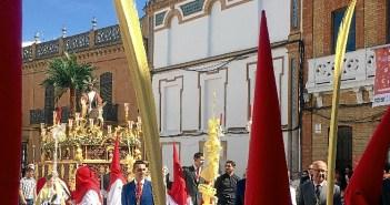 Borriquita en Valverde del Camino (3)